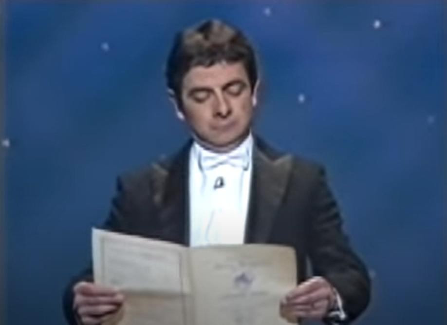 Óda na radost Rowana Atkinsona, vysvětlení v češtině